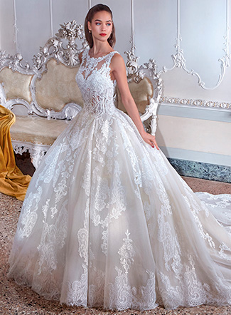 Vestido de noiva Platinum
